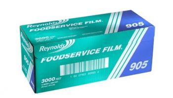 Reynolds® 905 Foodservice PVC Film Roll with Cutter Box - 12