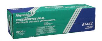 Reynolds® 914SC Foodservice Film Roll with Slide Cutter - 18