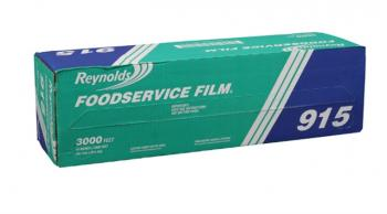 Reynolds® 915 Foodservice PVC Film Roll with Cutter Box - 18
